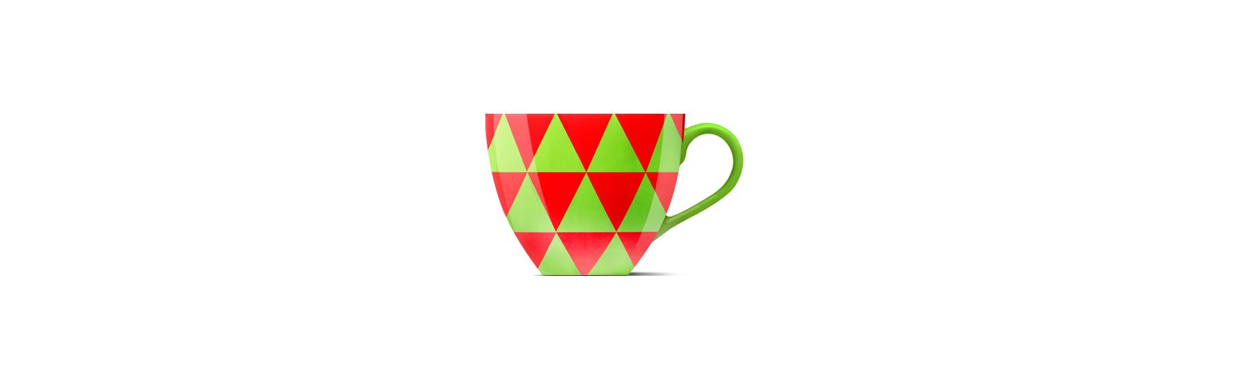 Кофейная чашка дизайн